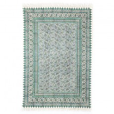 Paisley Patterned Block Print Tablecloth