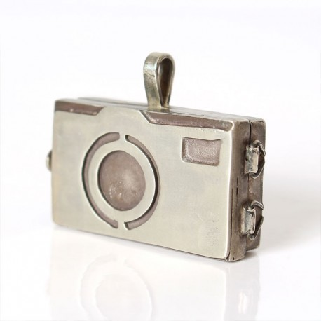 Camera locket pendant