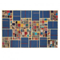 Modernity Persian patchwork kilim
