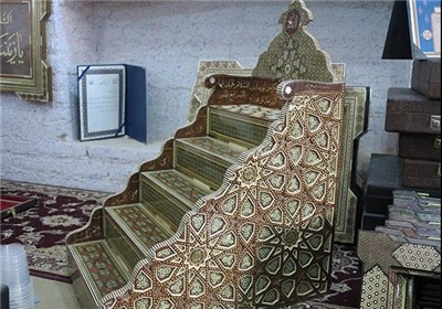 Khatam Minbar of Atigh Jame Mosque