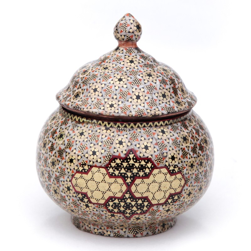 Khatamkari Sugar Bowl